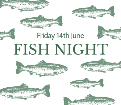 Pub & Restaurant, The Three Horseshoes, focuses on sustainable fish for a special evening to kick-start summer.